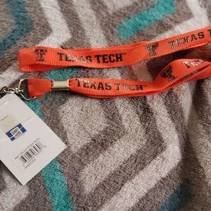 Texas Tech Lanyard